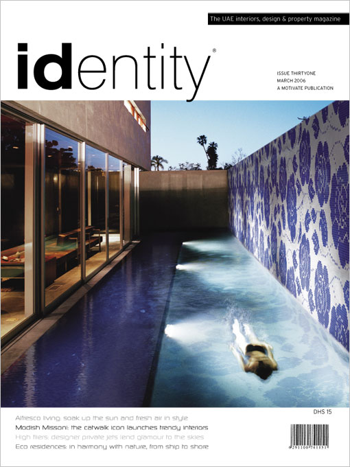 Identity Magazine graphic design layout